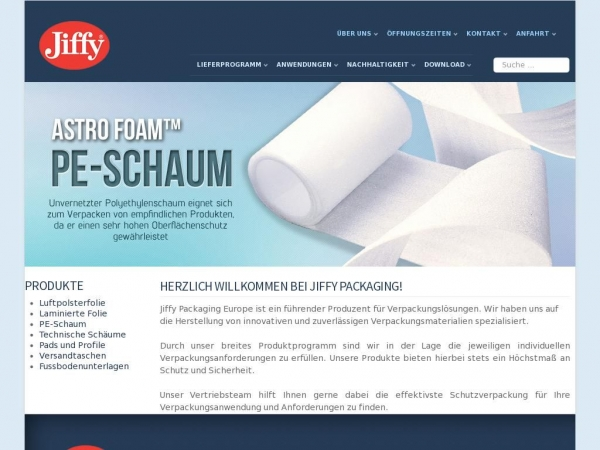 jiffypackaging.de